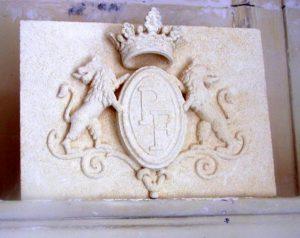 Taille de Pierre Sculpture Blason