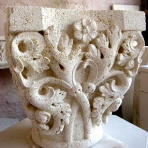 Taille de Pierre Sculpture Chapiteau
